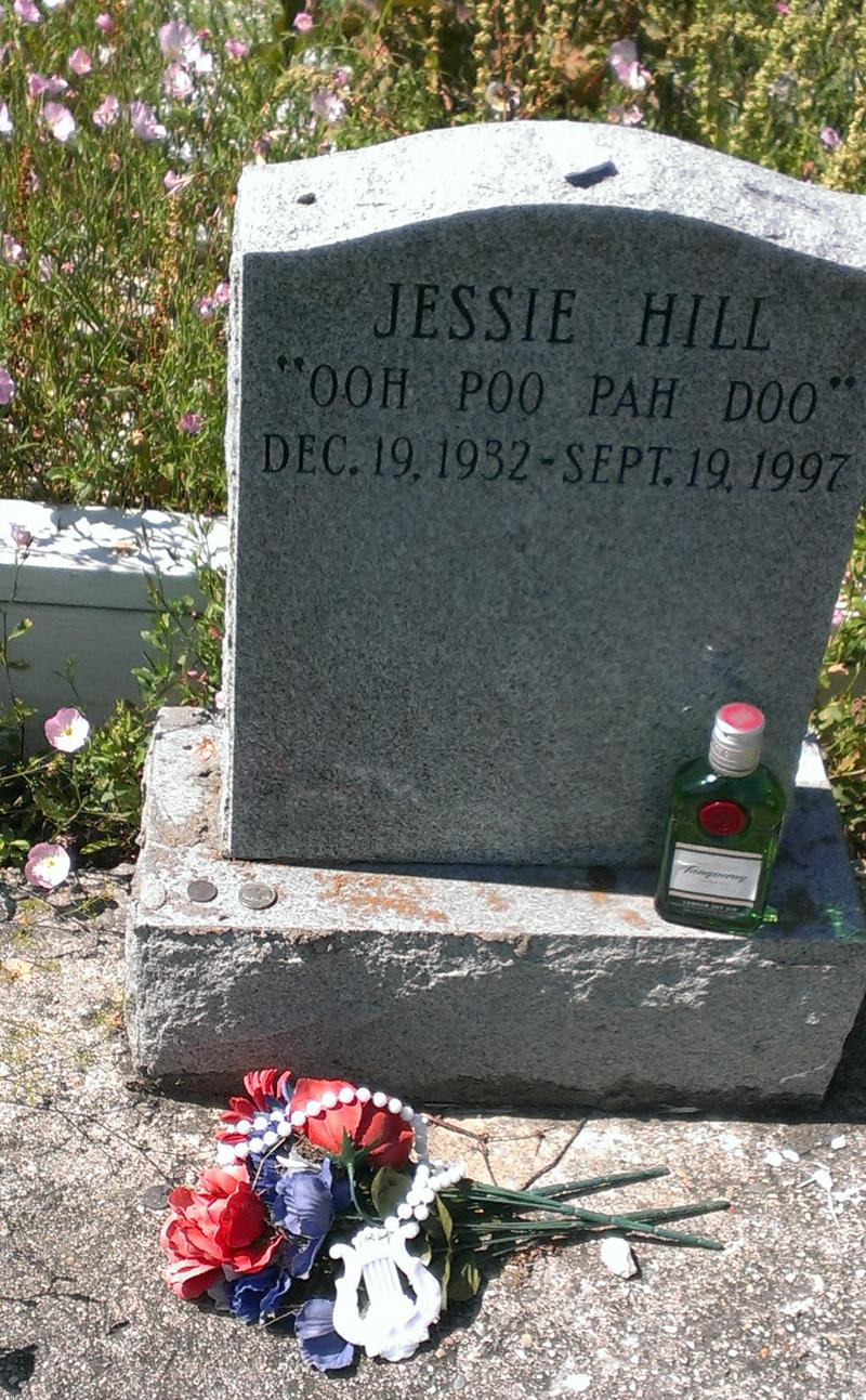Jessie Hill's Final Resting Place