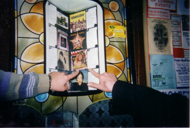 The First Time I Saw My CD on Igor's JukeBox